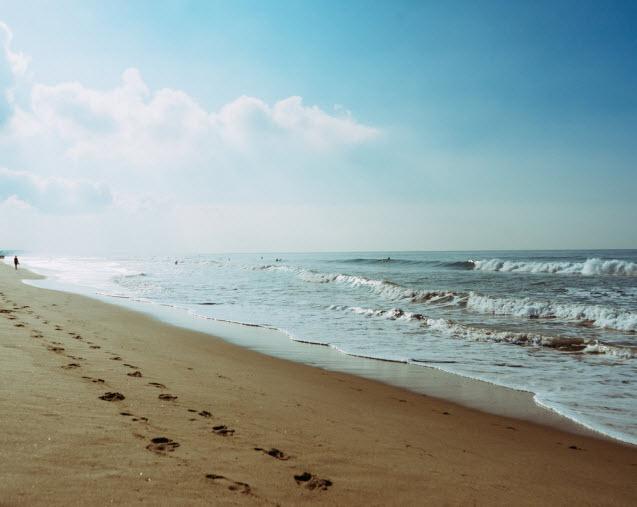 Galveston Beach Water
