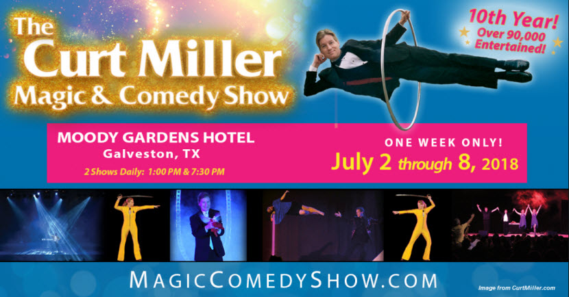 Curt Miller Magic Show 2018