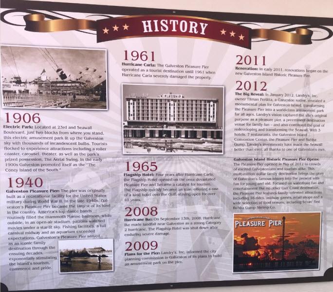 Pleasure Pier History