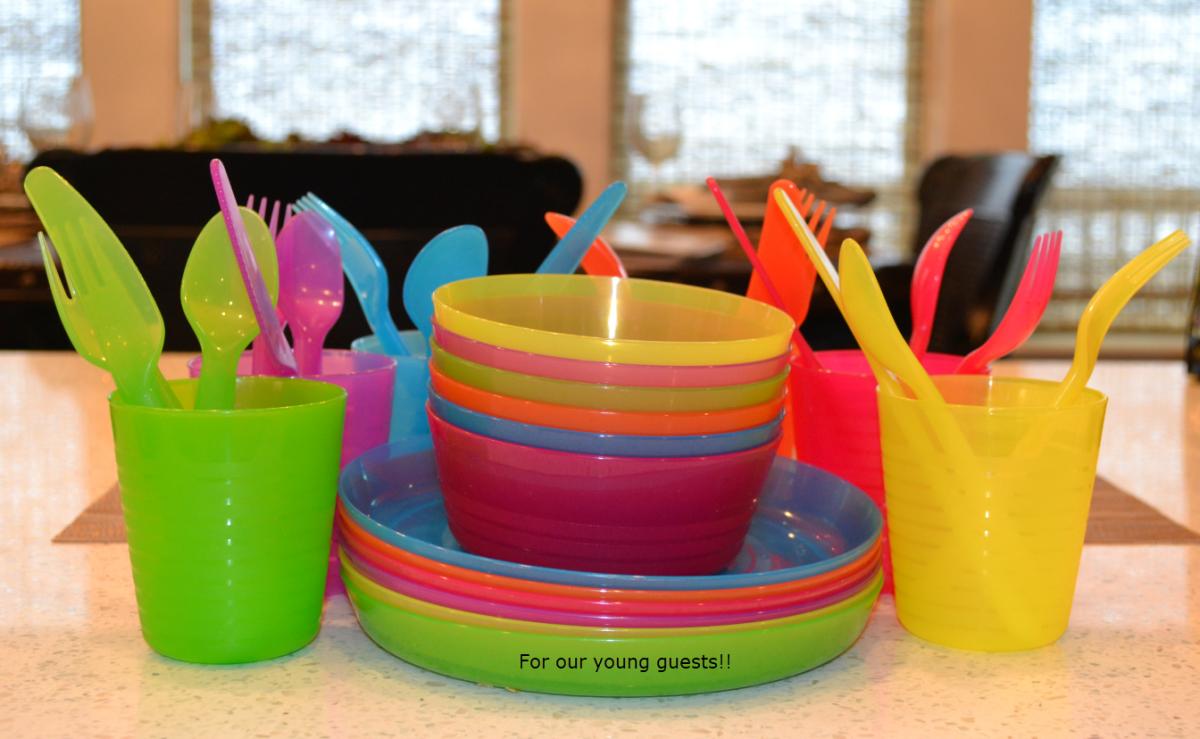 Toddler plate set